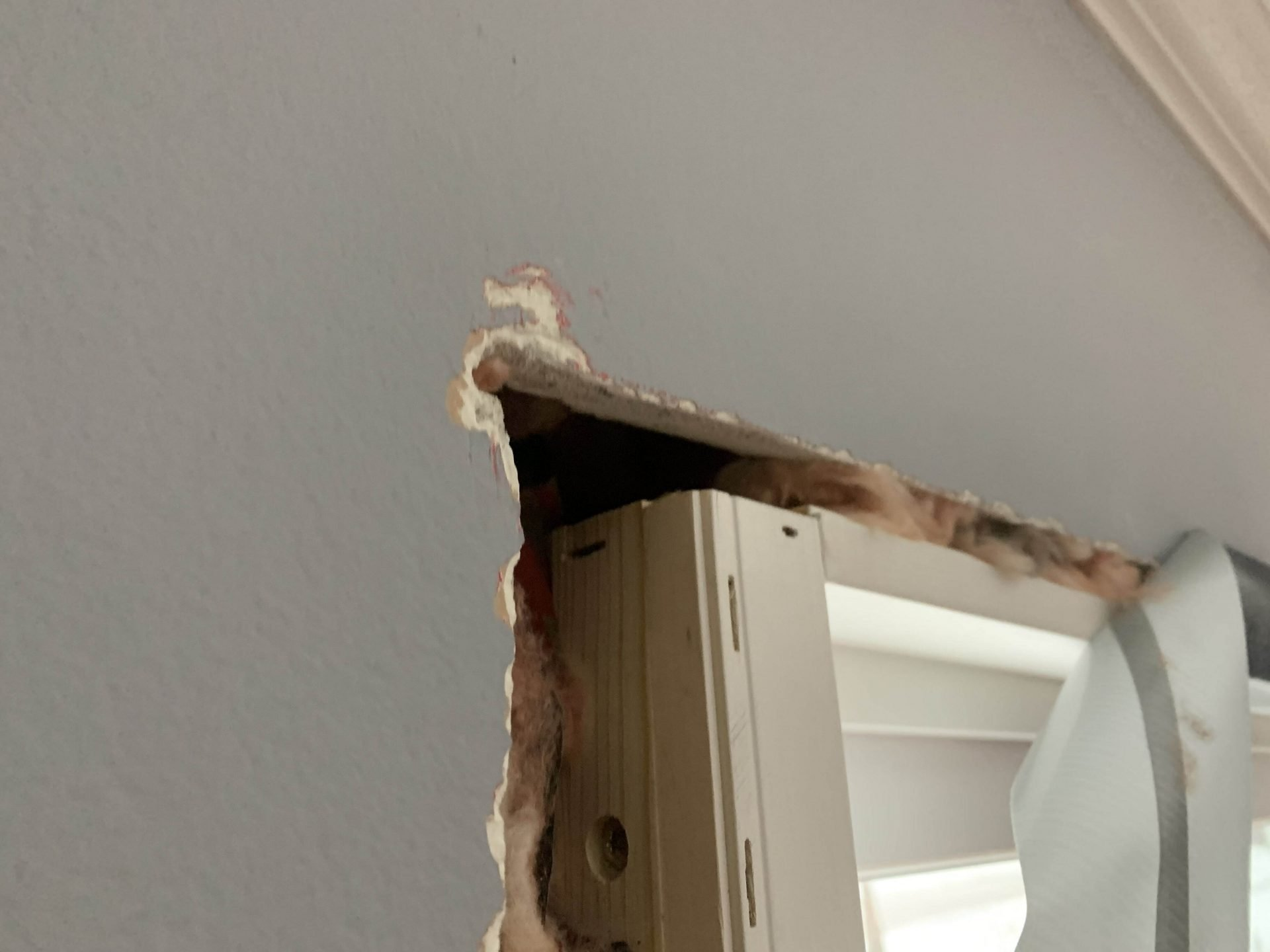 Missing Header Over Window | Chicagoland Home Inspectors Inc