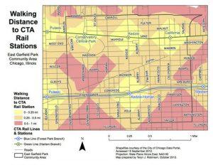 East Garfield Park Map