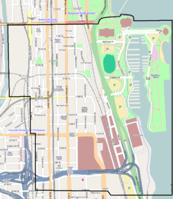Near South Side Map
