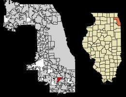 Hazel Crest Location