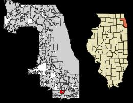 Olympia Fields Location