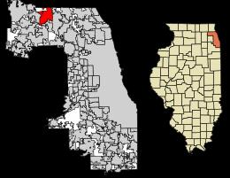 Palatine Location