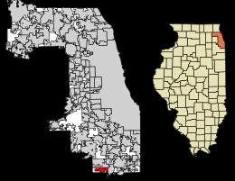 Richton Park Location