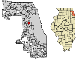 River Forest Location