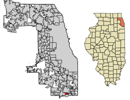South Chicago Heights Location