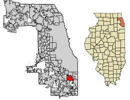 South Holland Location