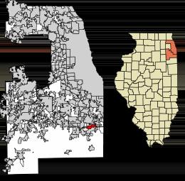 Steger Location