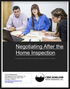 Negotiating After the Home Inspection