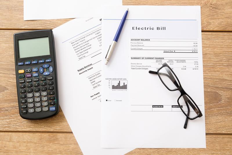 Winter Electric Bill
