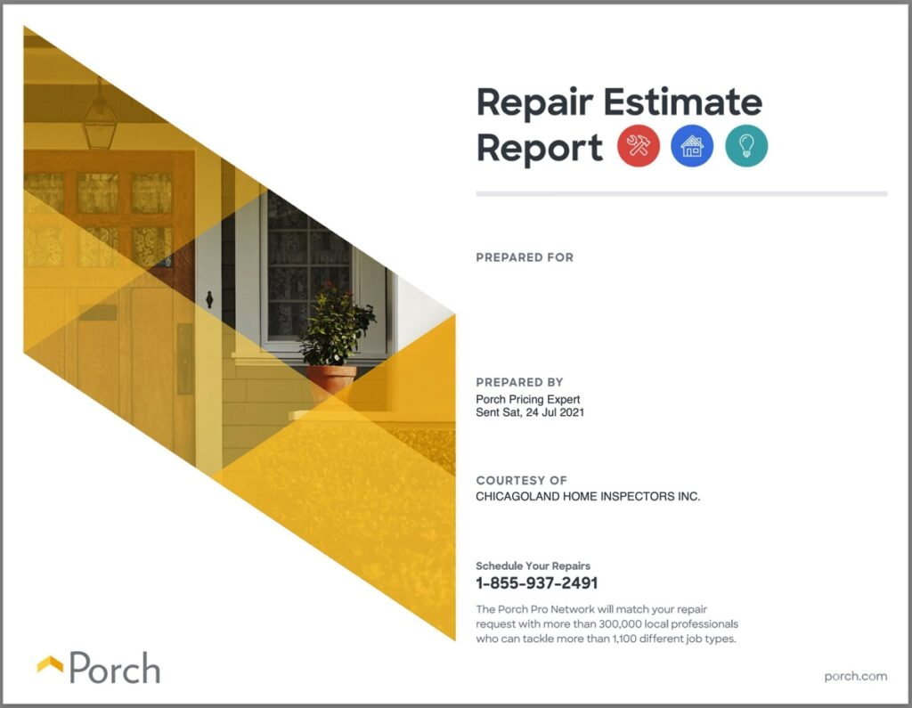 Repair Estimate Report